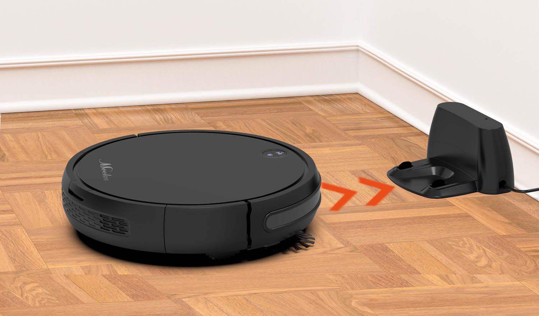 self recharging robotic vacuum