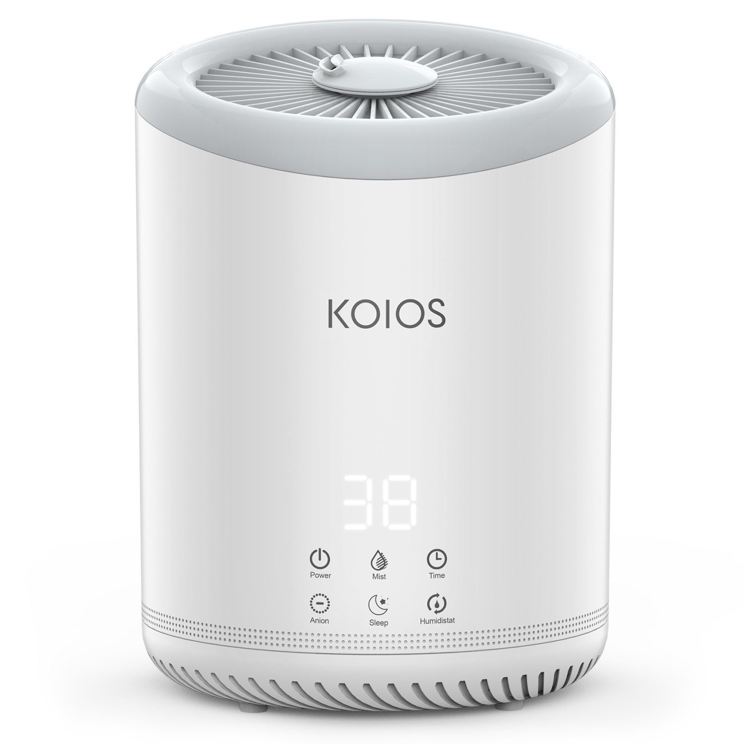 KOIOS Top Fill Humidifiers, Ultrasonic Cool Mist Humidifier With 3